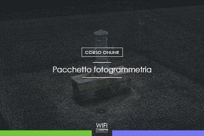 pacchetto fotogrammetria
