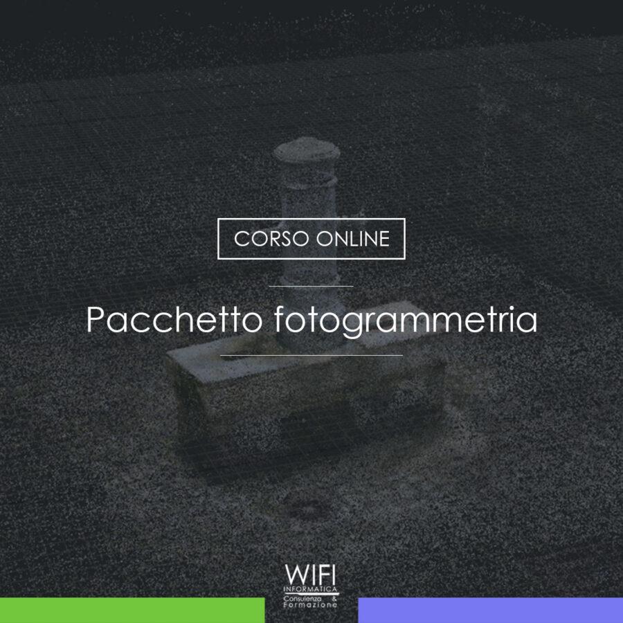 pacchetto fotogrammetria portfolio