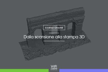 scansione stampa 3D