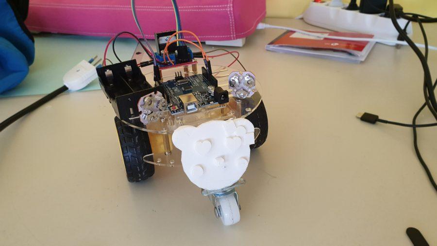 robot in gara romecup2019