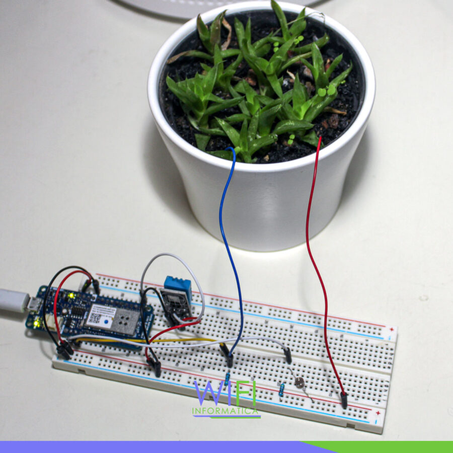 smart planter monitor arduino
